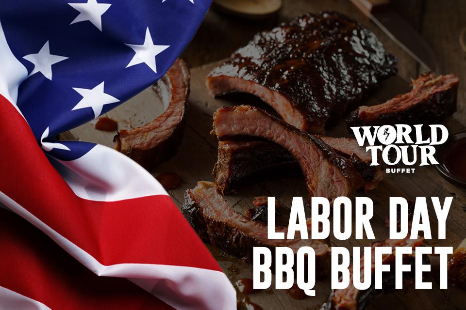 labor day bbq buffet