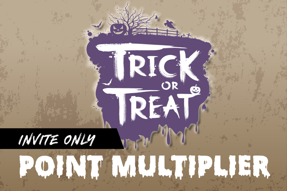trick or treat point multiplier