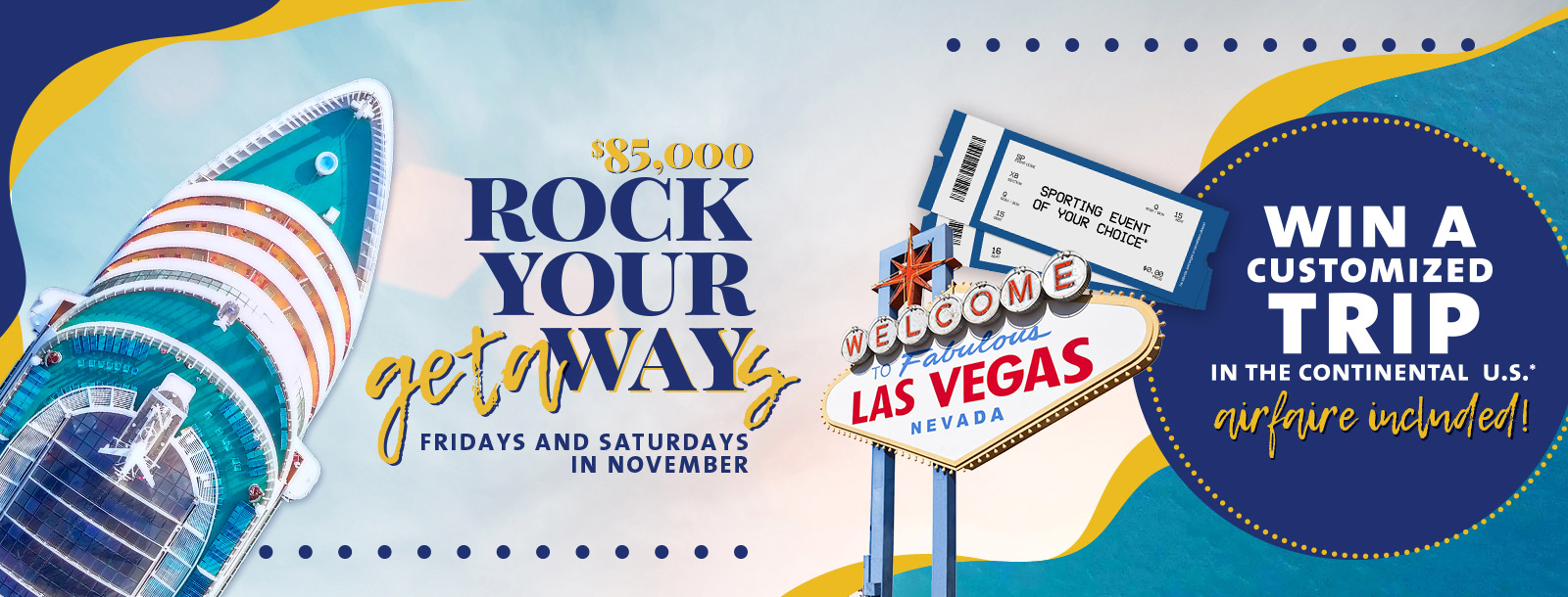 rock your way getaway