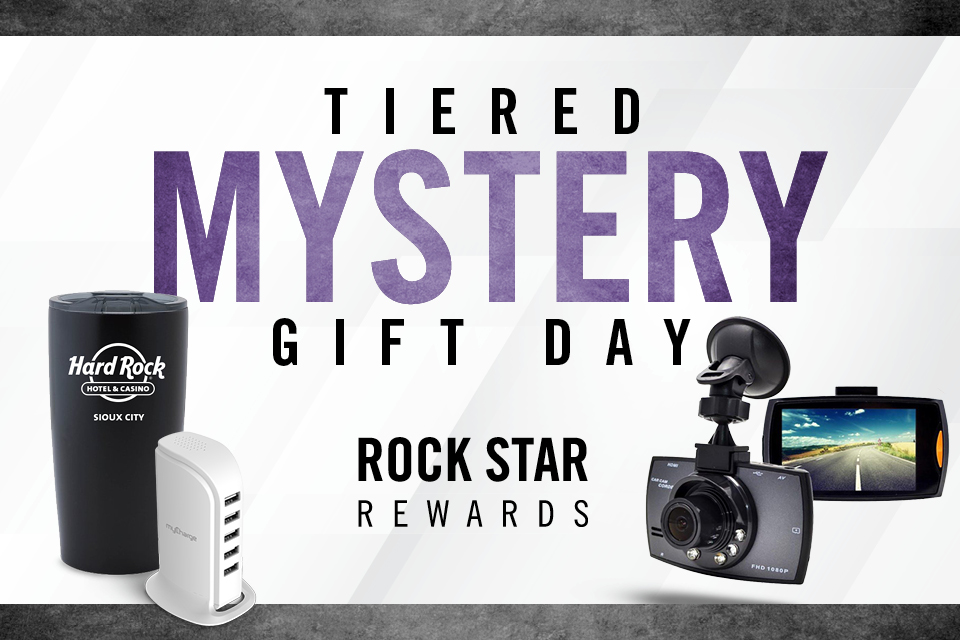 tiered mystery gift day rock star rewards