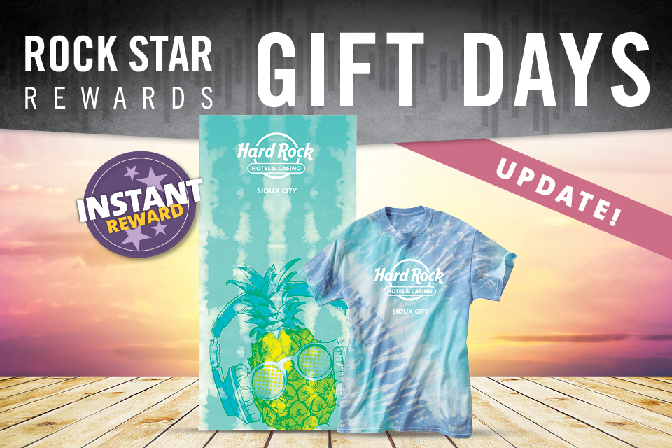 july rock star rewards gift days