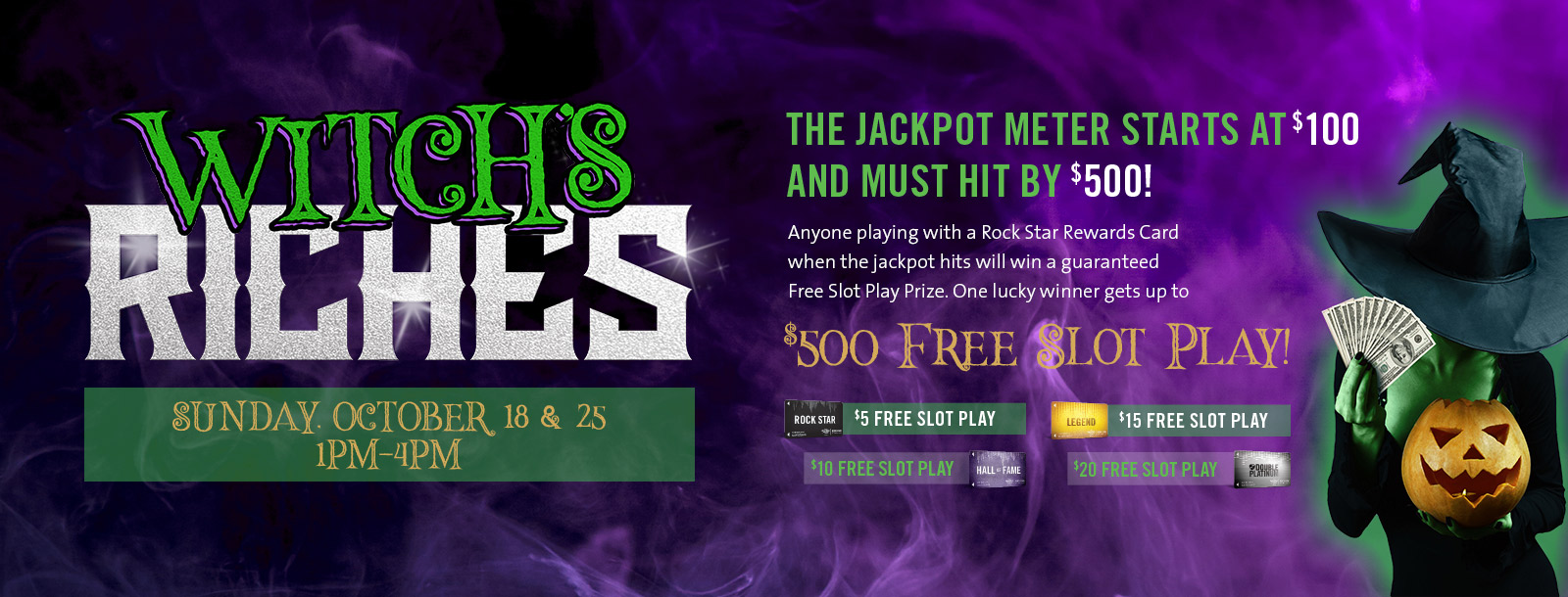 witchs riches sioux city promotions